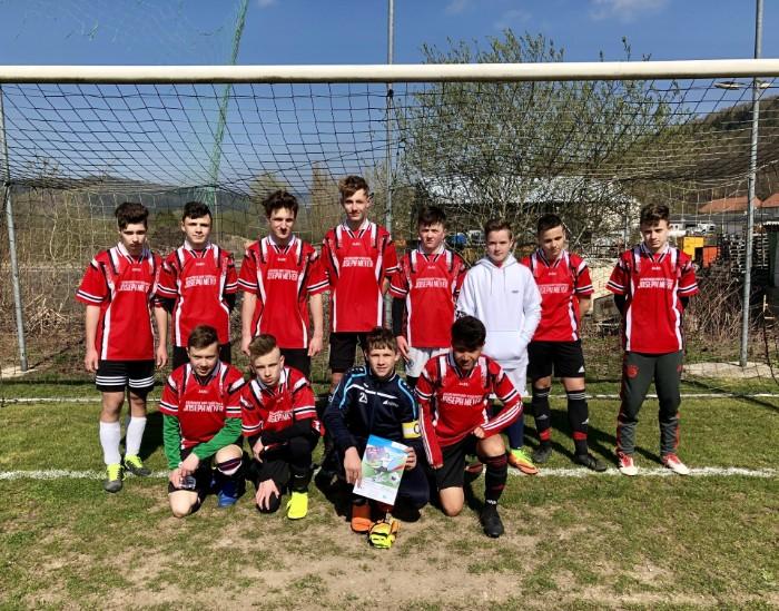 Kreisfinale Fußball WK II  – Gemeinschaftsschüler holen den 2. Platz