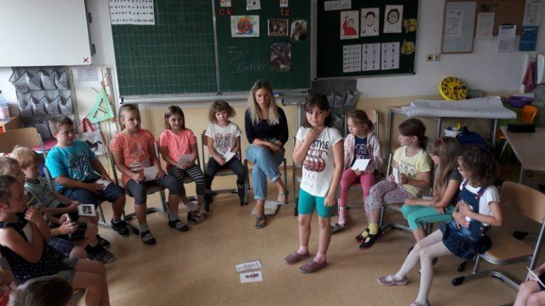 """Projekt der Klasse 1a und 1b mit dem Kinder – und Jugendschutzdienst """"Tauzeit"""""""